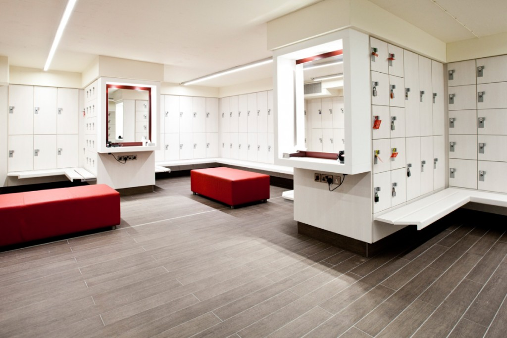 Lighting Locker Room